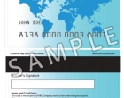 Magnetic Stripe Card Sample